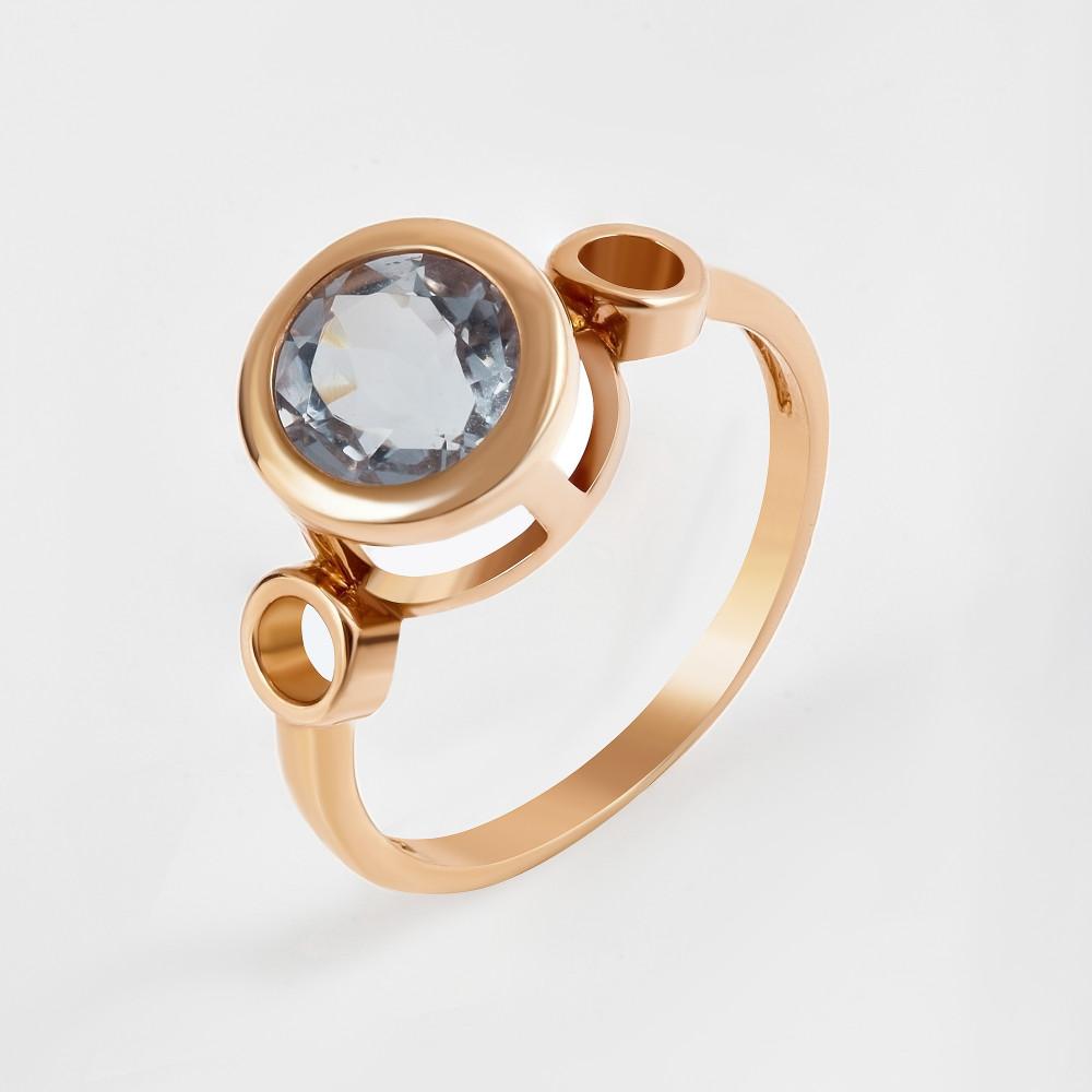 Золотое кольцо с кварцем 2БКЗ5К-13.93-0312-01