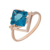 Золотое кольцо с ситалом 2БК35К-14.94-1153-05