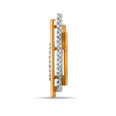 Золотая подвеска с фианитами СН01-314792