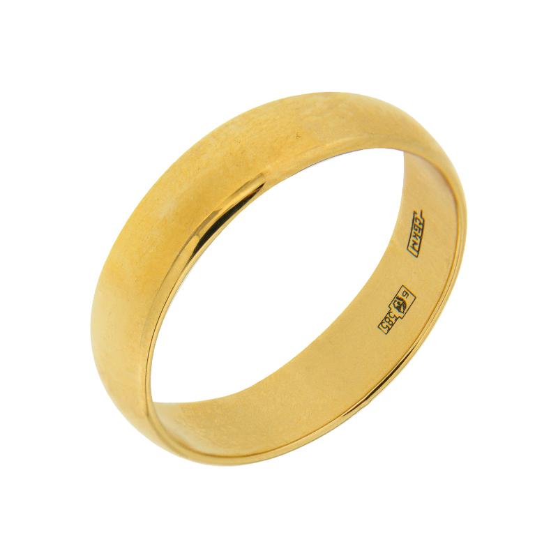 Золотое кольцо обручальное МЯ125000-3