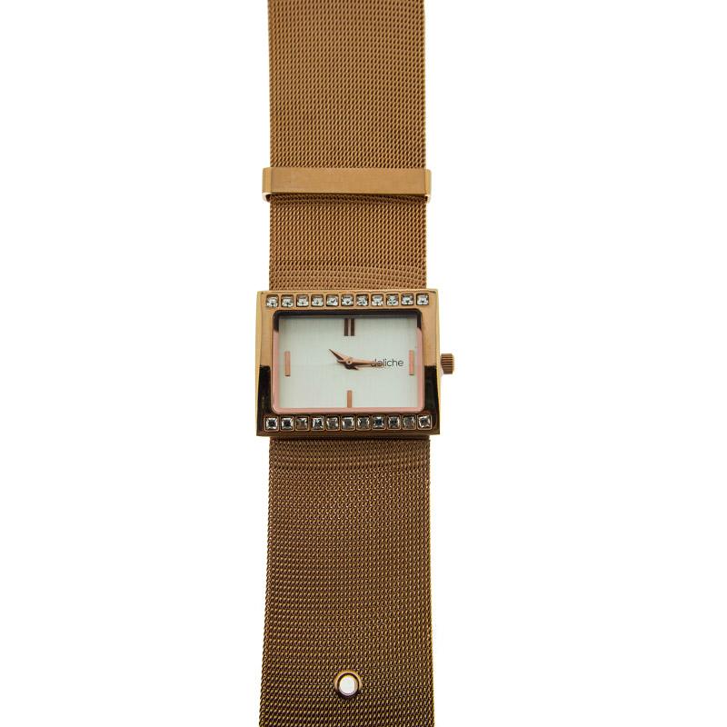 Бижутерные часы с фианитами К4ДВ028-1