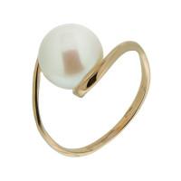 Золотое кольцо с жемчугом 5Э10-00-00034