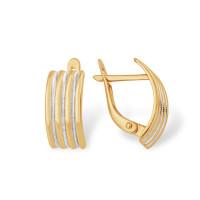 Золотые серьги ЮПС1307877 женские