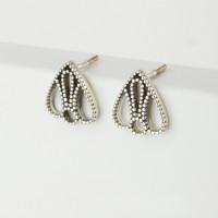 Серебряные серьги гвоздики НЮ900020792573