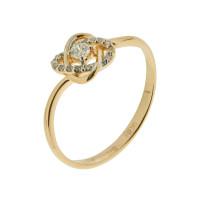 Золотое кольцо с бриллиантами ХС050075121