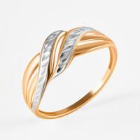 Золотое кольцо ЮПК1209200 без вставок