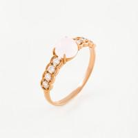 Золотое кольцо с фианитами ЮЫ2000000225911