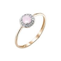 Золотое кольцо с фианитами ЮЫ2002000225905
