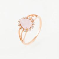 Золотое кольцо с фианитами ЮЫ2000000225950
