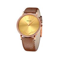 Золотые часы с фианитами ДИ210.01.00.001.07.03.2