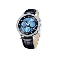 Серебряные часы с фианитами ДИ127.30.00.001.04.01.2