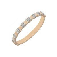 Золотое кольцо с фианитами ЮЫ2002000123208