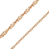 Золотая цепочка БЮ11030022755 плетение Сингапур