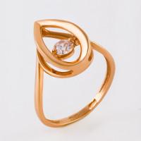 Золотое кольцо с фианитами НЮ105000192513