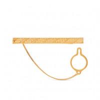 Золотой зажим для галстука 2И01-7013