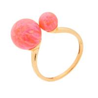 Золотое кольцо с опалами РЫ1021535-57