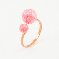 Золотое кольцо с опалами РЫ1021635-57