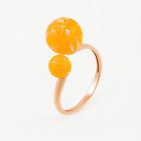 Золотое кольцо с опалами РЫ1021535-66