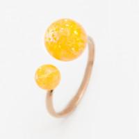Золотое кольцо с опалами РЫ1021635-66