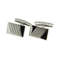 Серебряные запонки 8С140006