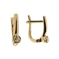 Золотые серьги с бриллиантами ВБ2035-150-00-00