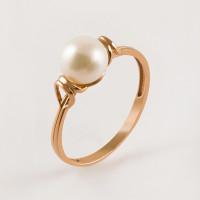 Золотое кольцо с жемчугом ФЖ21417.1