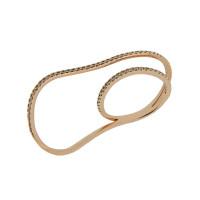 Золотое кольцо с бриллиантами ЮЕМЖ-2476РПИНКДВ