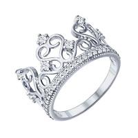 Серебряное кольцо ДИ94011217