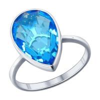 Серебряное кольцо ДИ94011521