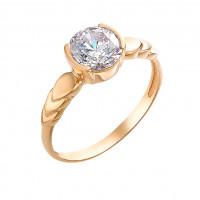 Золотое кольцо с сваровски ЮИК130-2946