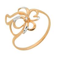 Золотое кольцо с фианитами 2Т1715923АР