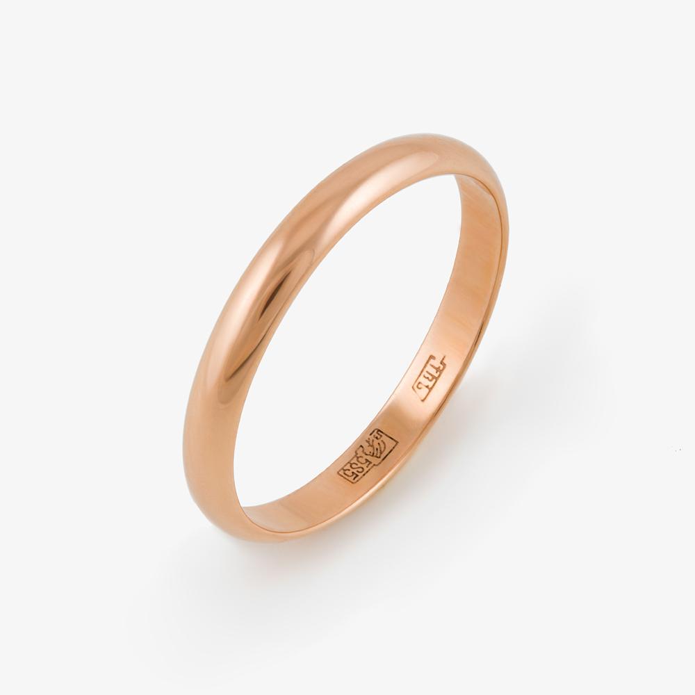 Золотое кольцо обручальное ЕН22-01250