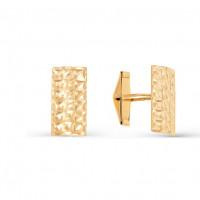 Золотые запонки 2И66-0003