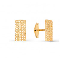 Золотые запонки 2И66-0006