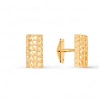 Золотые запонки 2И66-0007