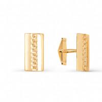 Золотые запонки 2И66-0009