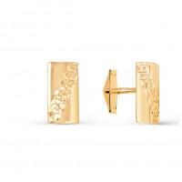 Золотые запонки 2И66-0011