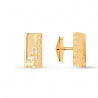 Золотые запонки 2И66-0012