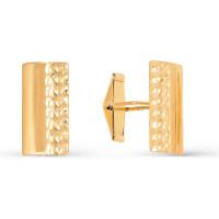 Золотые запонки 2И66-0014