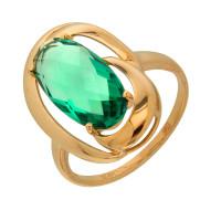 Золотое кольцо с кварцем ДИ714345