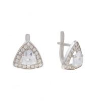 Серебряные серьги 4МС121