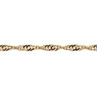 Золотая цепочка ИНП235СЗА2 плетение Сингапур