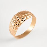 Золотое кольцо ПЗА012524 без вставок
