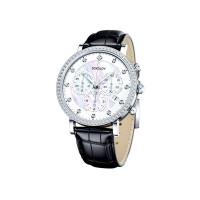 Серебряные часы с фианитами ДИ127.30.00.001.03.01.2