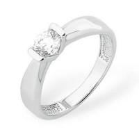 Серебряное кольцо с сваровски ЮП1010011140