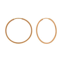 Золотые серьги конго БЮ16000193000