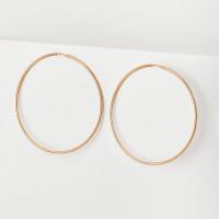 Золотые серьги конго БЮ16020418000