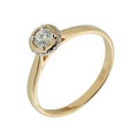 Золотое кольцо с бриллиантами ХС050075021