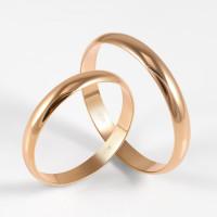 Золотое кольцо обручальное ДИ110183