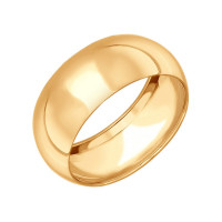 Золотое кольцо обручальное ДИ110214